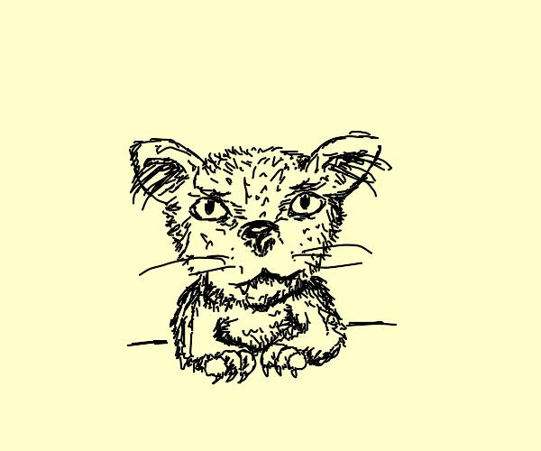 feline looking creature