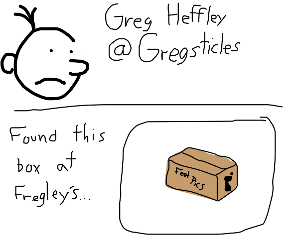 Profile of Greg who has posted a box with leg