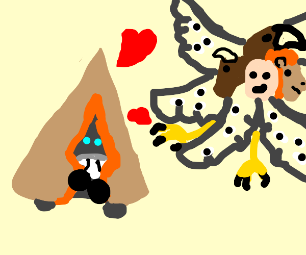 snorunt really loves angels toes