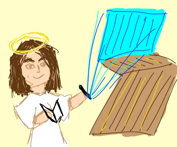 jesus, the fortnite god