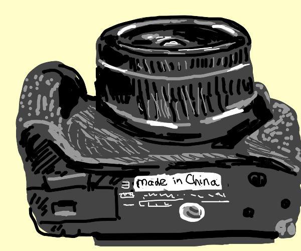 A Canon made in China