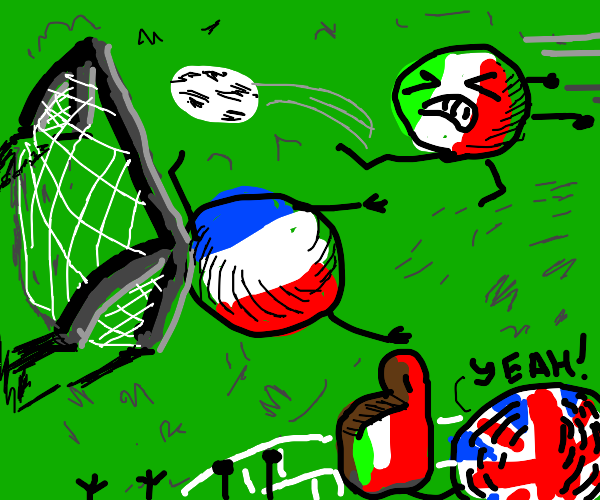 Italy wins over France, UK