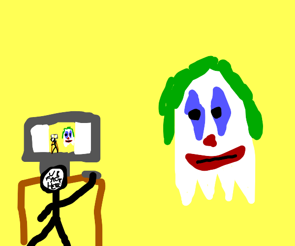 ghost joker watching you