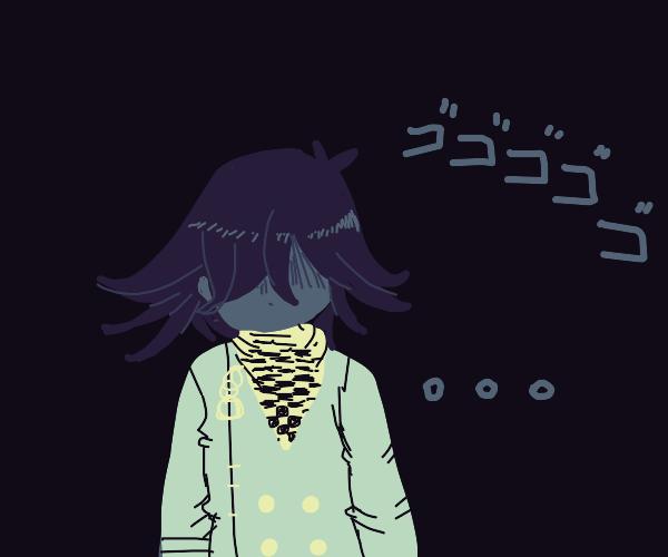 kokichi ouma has no eyes