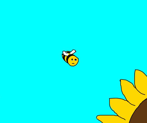 sad honeybee