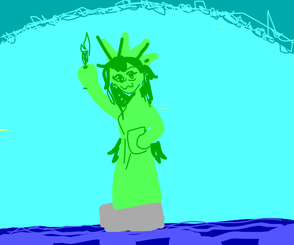 Anime Statue of Liberty :)