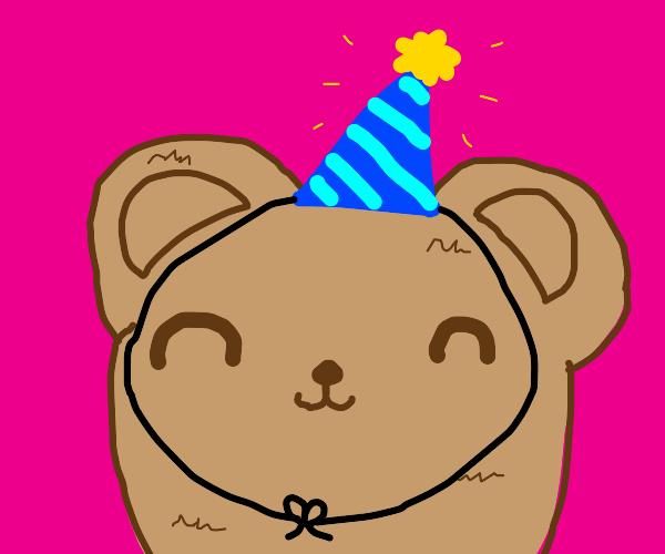 Happy birthday to bear