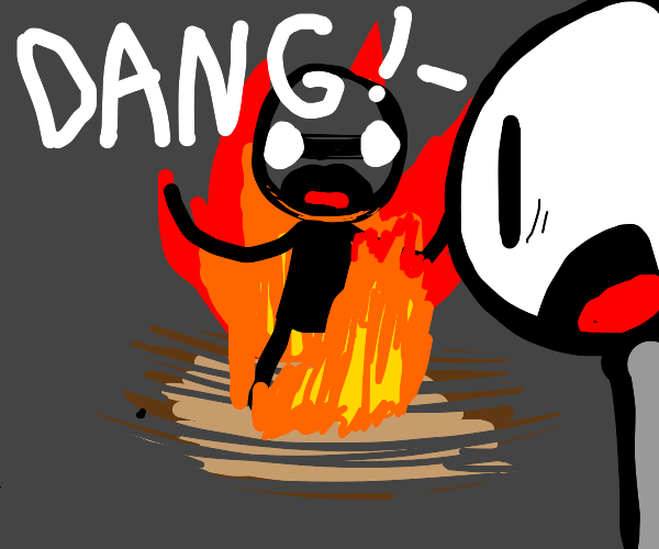 Man on fire - DANG