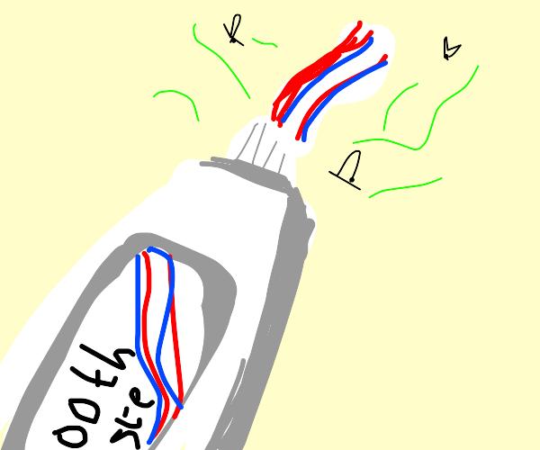 Stinky Toothpaste