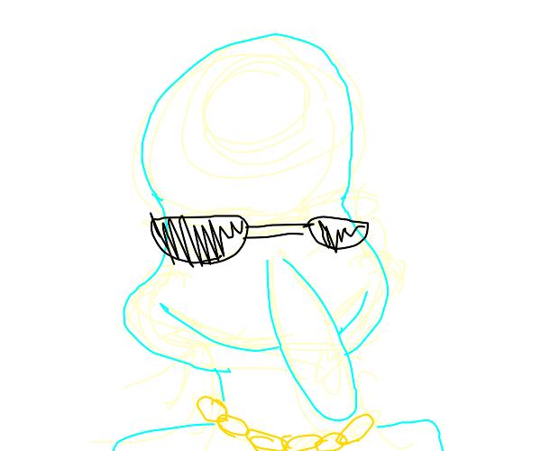 Gangster Squidward