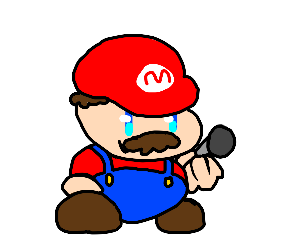 Mario but it's FNF style