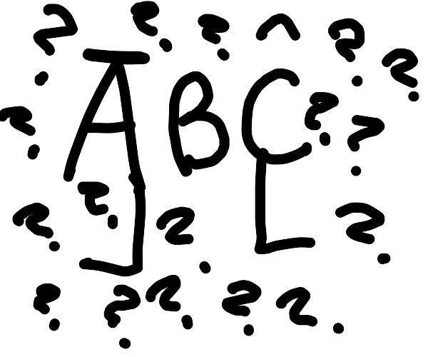 ABC but confused as hek