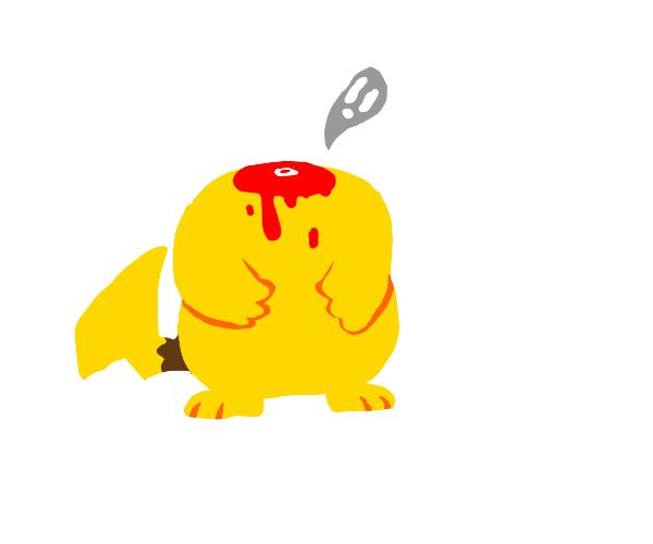 Decapitated pikachu