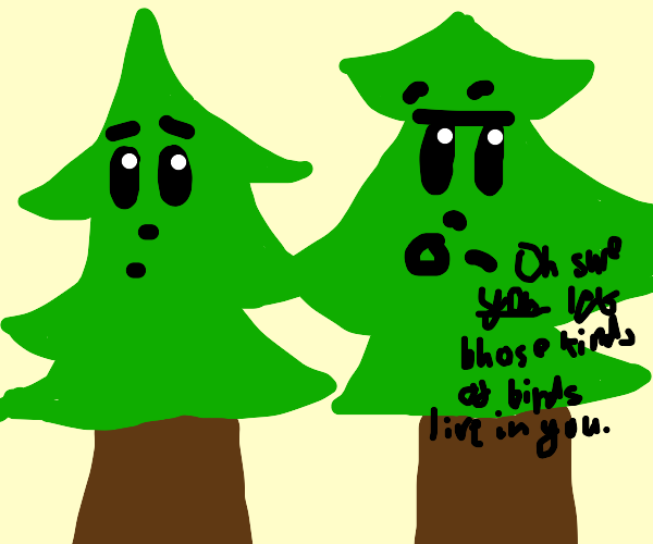condescending trees
