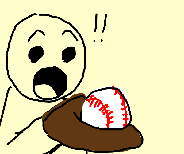 OH! THAT'S A BASEBALL!!!