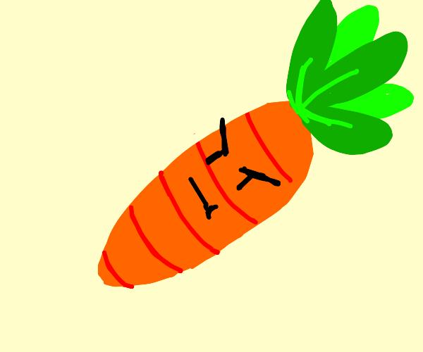 annoyed carrot