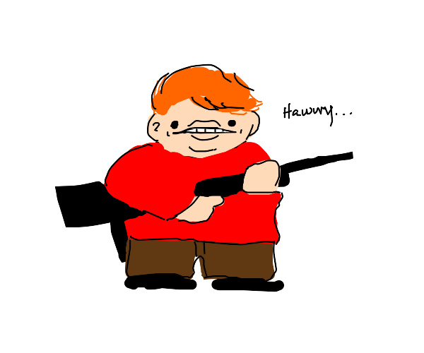 Ron Weasley discovered muggle military weapon