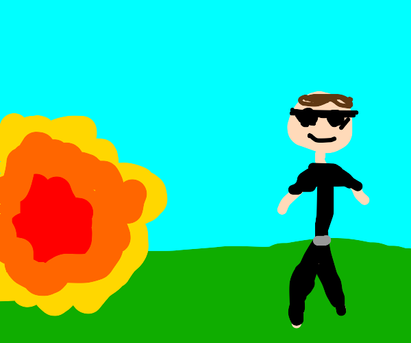 cool guys don't look at explosions