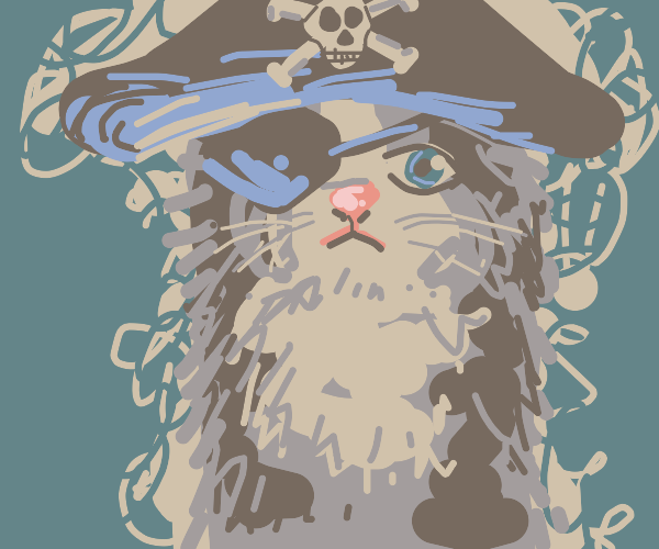 Cute Kitty Pirate Is Coming For Your Booty