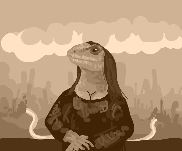 Mona Lizard