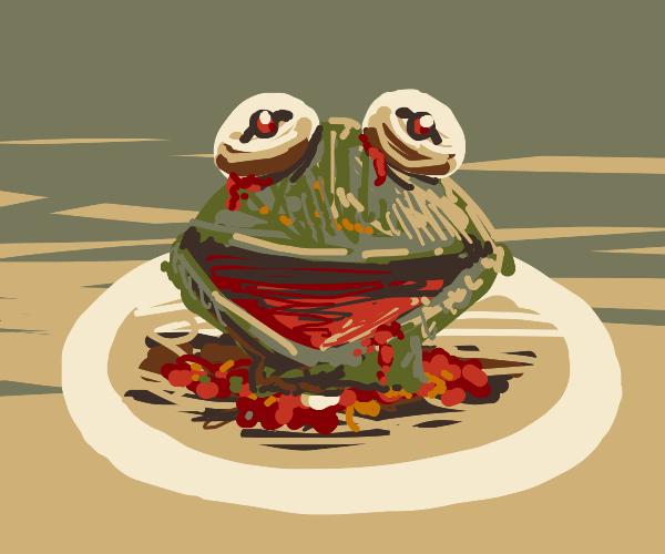 Today's Menu: Kermit The Frog!
