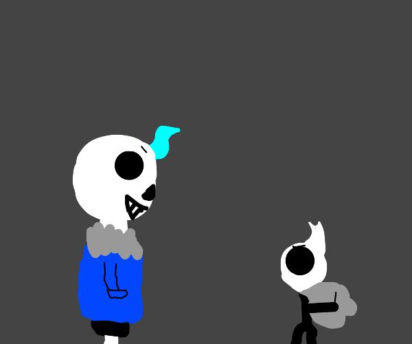 Sans vs Hollow knight