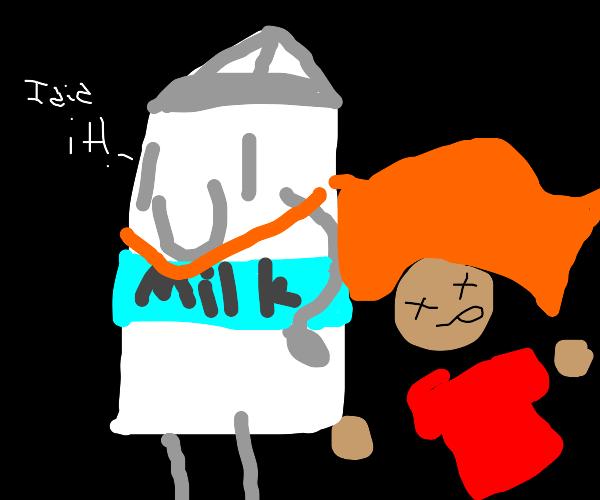 milk saves dead guy