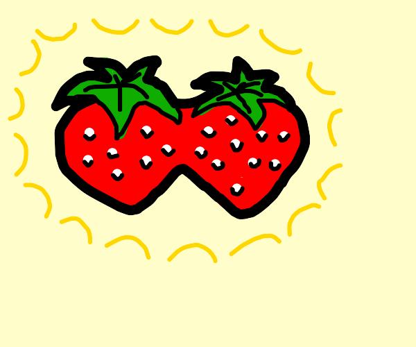 strawberries are bonding