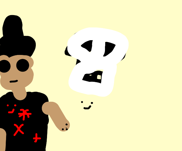 Skull and pirate