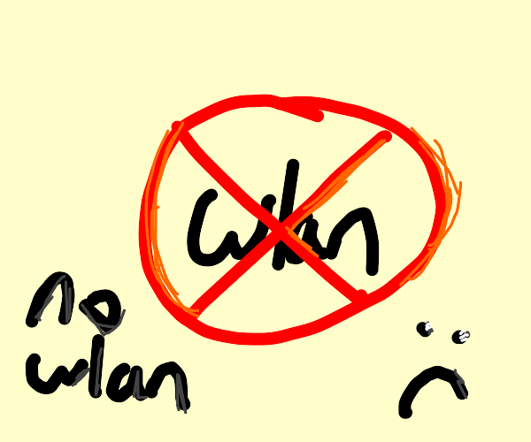 no wlan