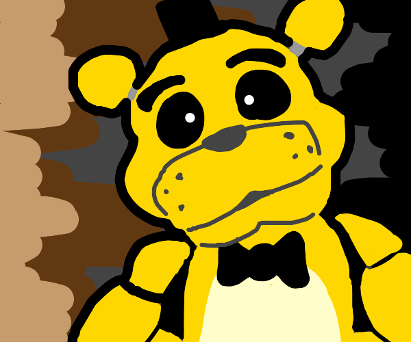golden freddy from Fnaf wants to nom you