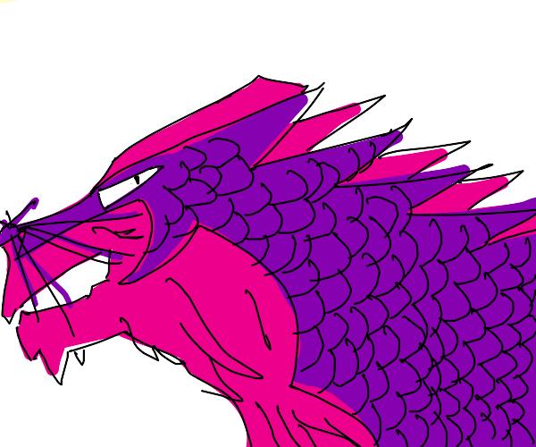 Purple Dragon Mouse!