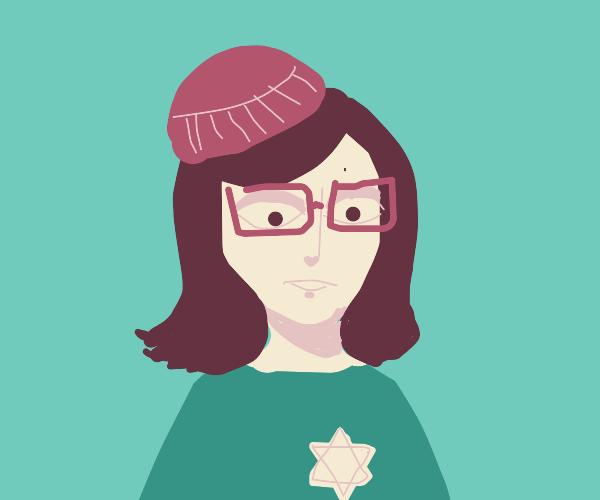 Hipster Anne Frank