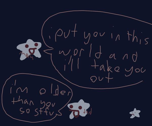 Stars saying harmful parental catchphrases