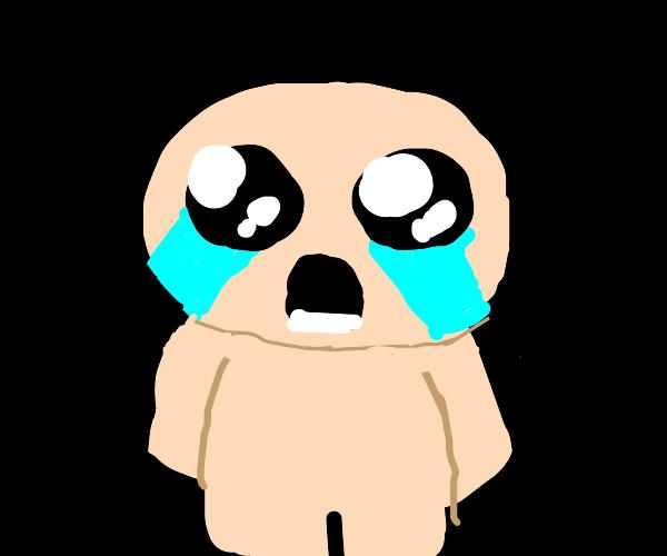 crying isaac (binding of isaac)