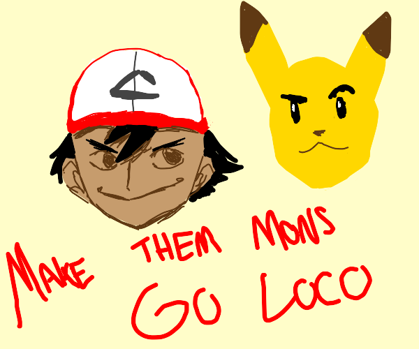 Ash Ketchum and Pikachu are Fergilicious