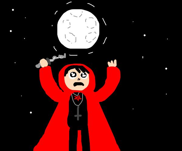 satanic moon worshipper