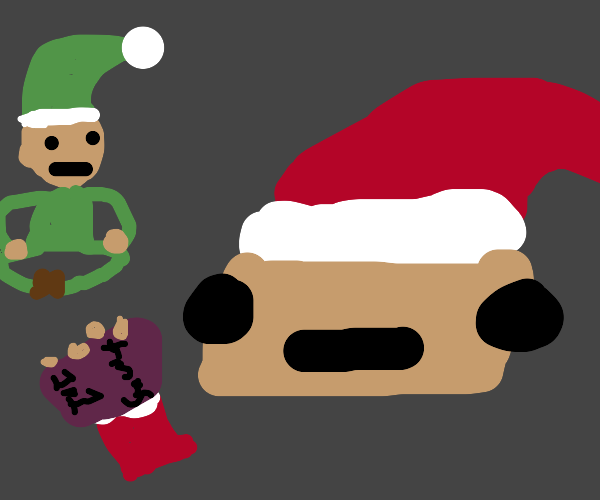 santa teaching elves christmas 101