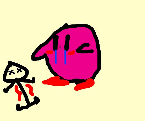 Kirby mourns Senpai