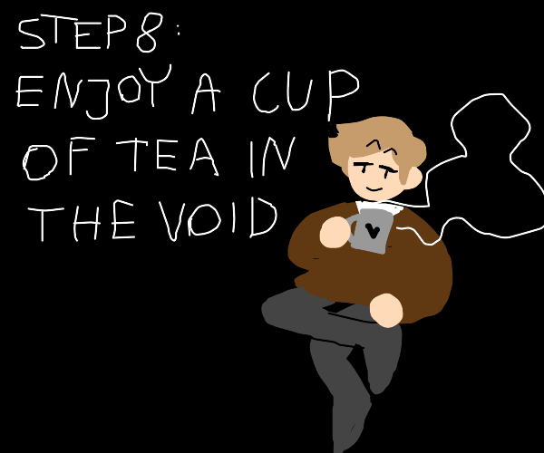Step 7: Clean the void