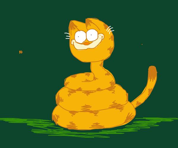 Deranged Garfield