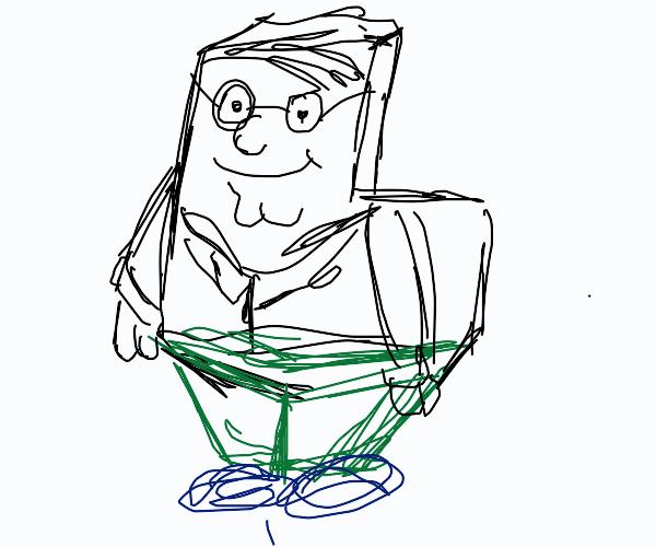 Peter Griffin  but he is a random shape