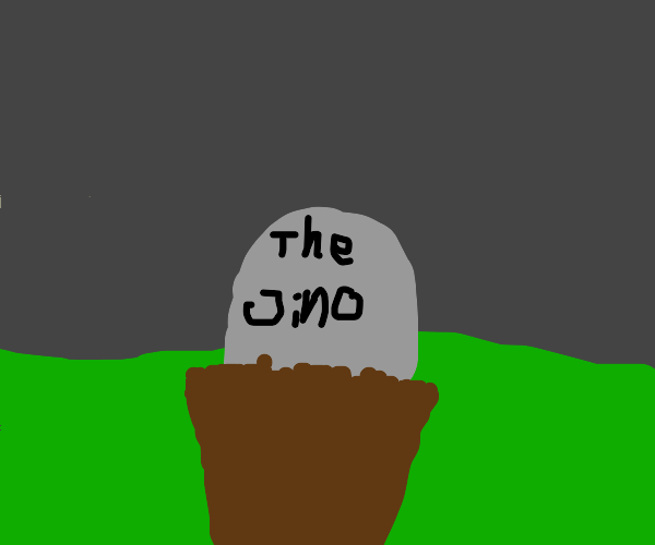 Grave for someone called The Jino