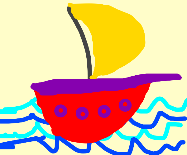 Doodle of a Sailboat