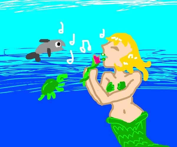 An underwater musical