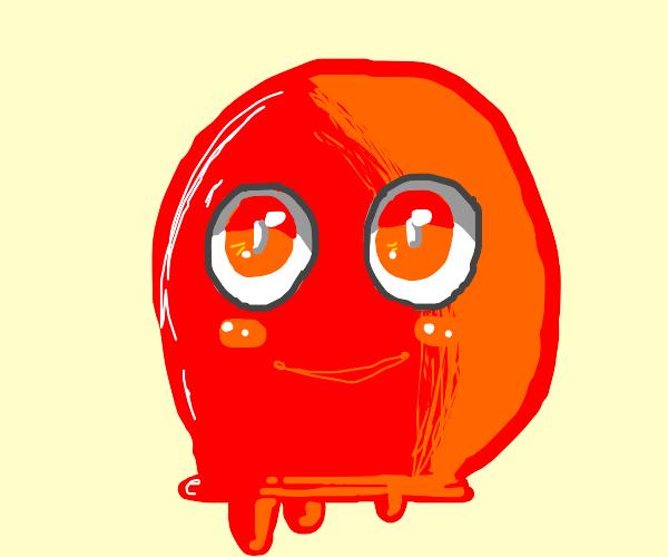 cute red blob