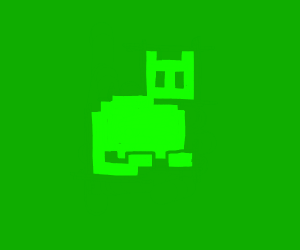 Video game cat sprite
