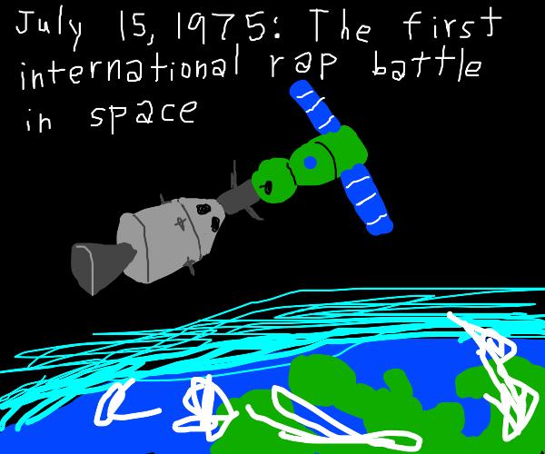 Astronaut and communist rapper