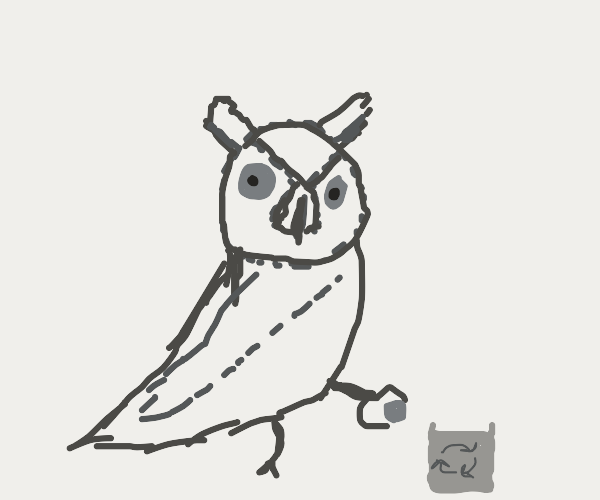 Recycling Owl