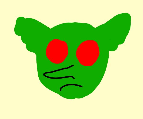 green goblin face